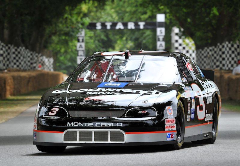 Ex-Dale Earnhardt NASCAR Chevrolet Monte Carlo