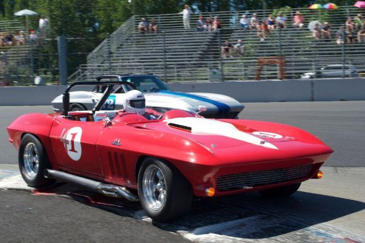 John Wigmore's 1966 Chevrolet Corvette.