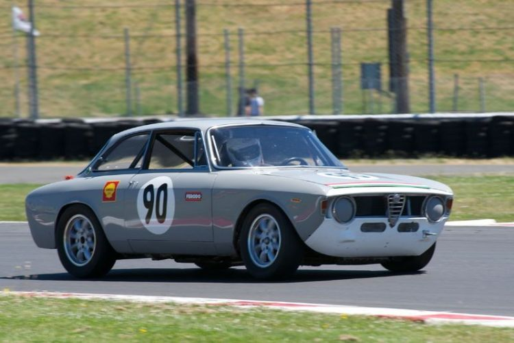 David Buchanan's 1966 Alfa Romeo GTV.