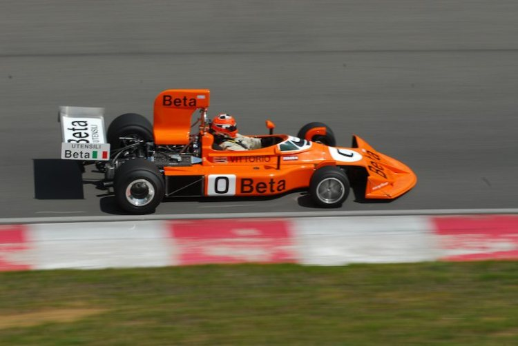 #0- Robert Blain March F1.