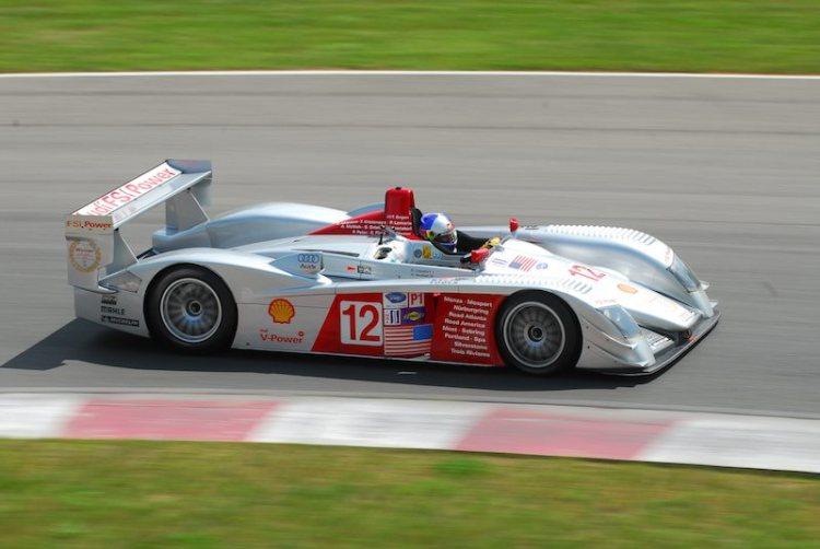 #12- Travis Engen Audi R8 LMP.