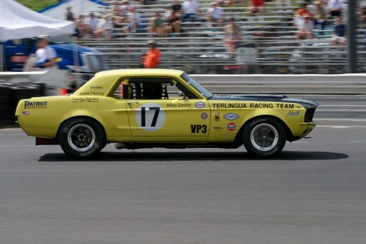 Michael Smith's 1967 Team Terlingua Ford Mustang.