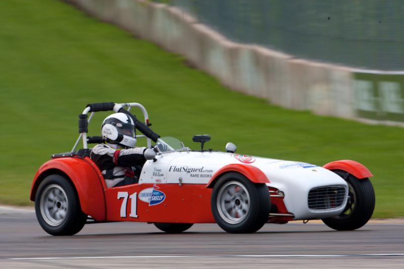 #71 Denny Wilson - 1962 Lotus Super 7