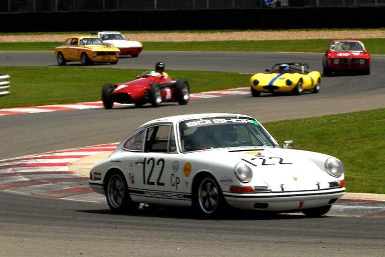#122- Ronnie Randell Porsche 911S.