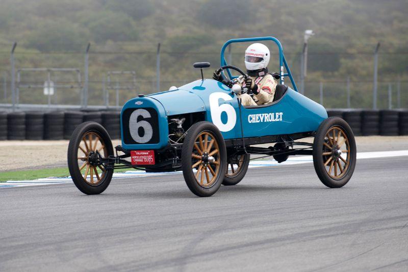1917 Chevrolet 490 Speedster driven by Noel Park.