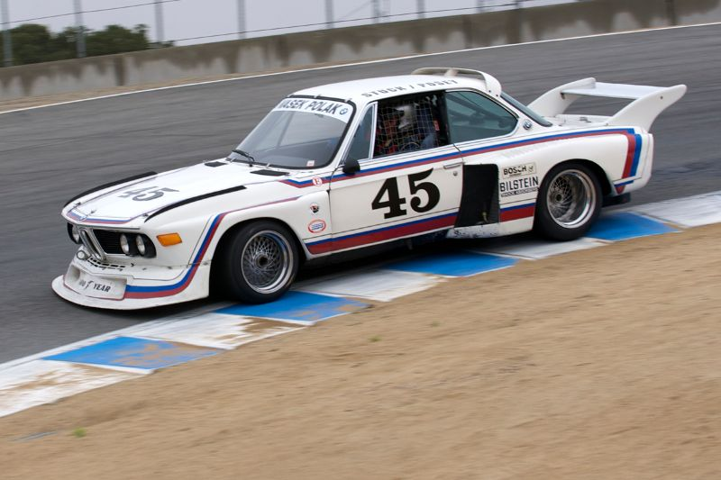 Andrew Cannon's 1974 BMW 3.0 CSL Batmobile.