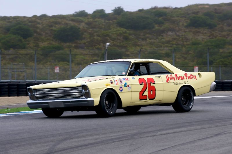Ken Adams in his 1966 Ford Galaxie.