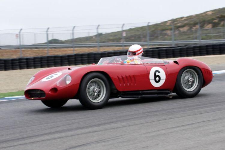 Erickson Shirley in his 1957 300S Maserati.