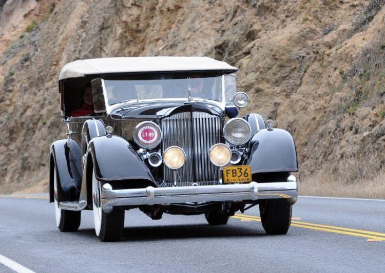 1934 Packard 1107 Phaeton, Frank and Loni Buck
