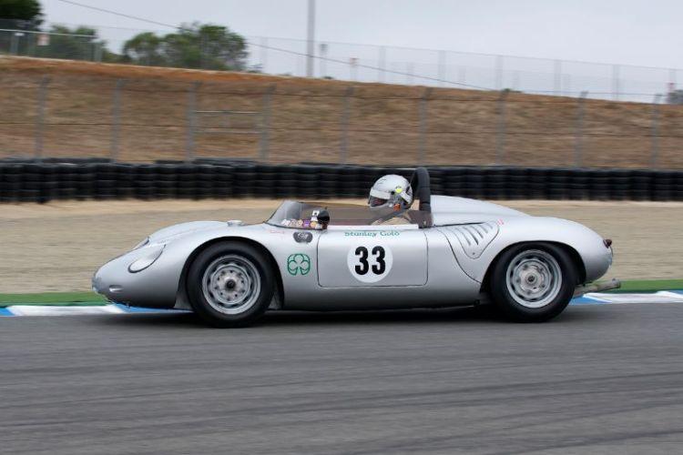 1961 Porsche RS Spyder driven by Stanley Gold.