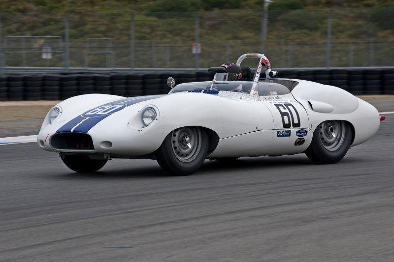 Bruce Canepa in his Costin Lister Jaguar.