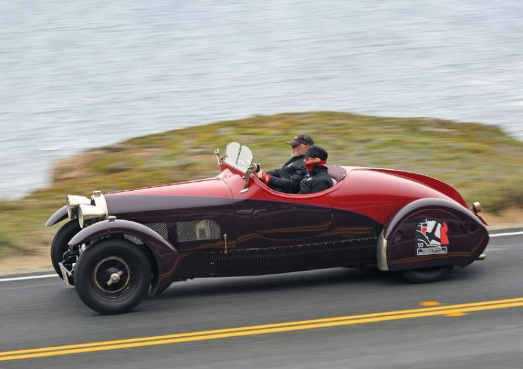 1928 Bugatti Type 44 Roadster - Steve and Annie Norman