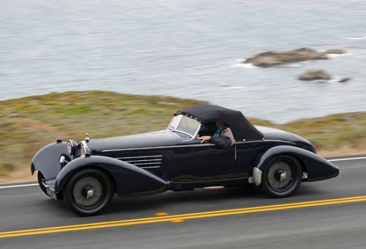 1934 Alfa Romeo 8C 2300 Spider - Roger Willbanks