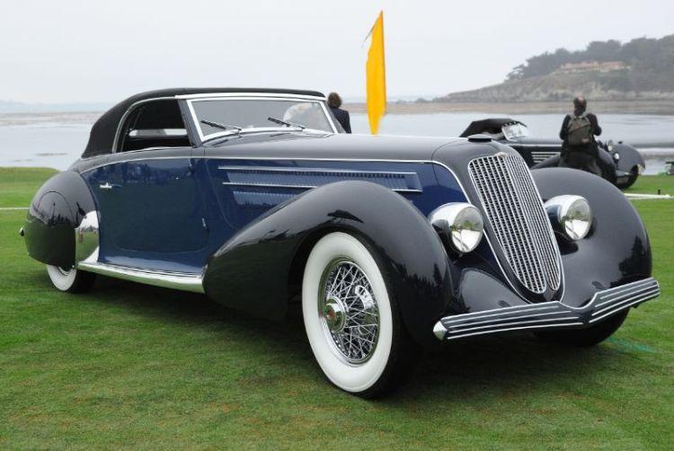 1930 Duesenberg J Graber Cabriolet, Sam and Emily Mann