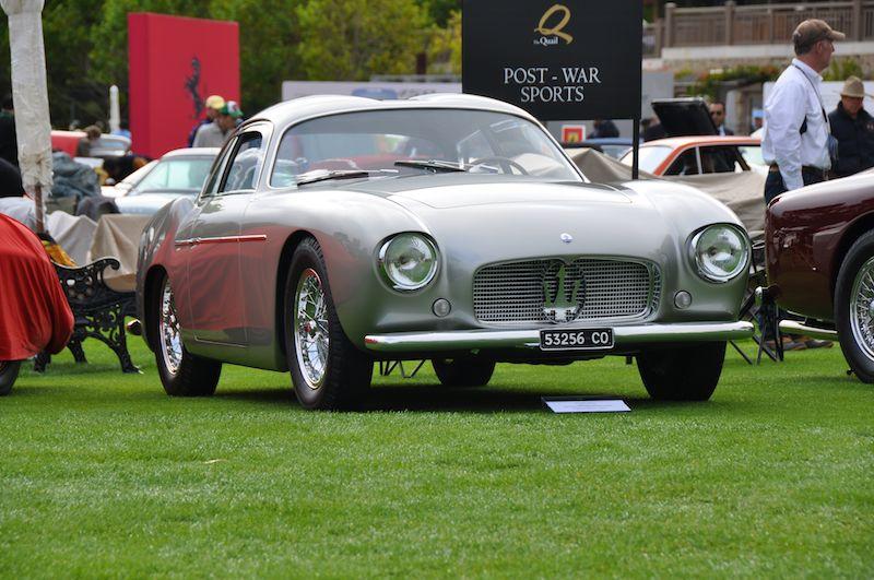 1956 Maserati A6G/54 Zagato Double Bubble - J. Roberto Quiroz