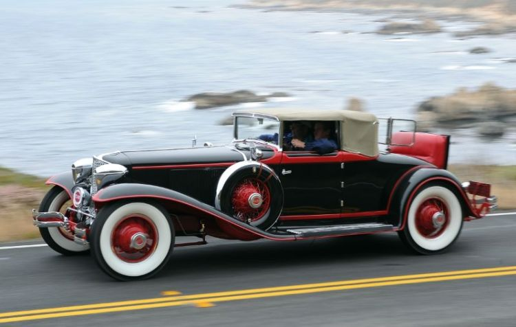 1929 Cord L-29 Cabriolet, Bill and Linda Jackson