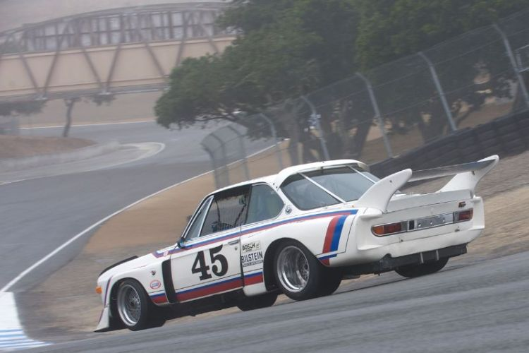 1974 BMW 3.0 CSL driven by Andrew Cannon.