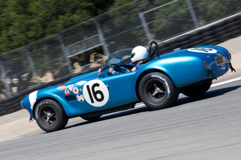 1964 Cobra 289 FIA driven by Lynn Park.