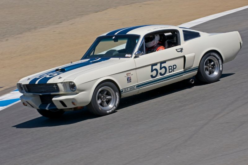 1966 Shelby GT 350 of Christi Edelbrock.