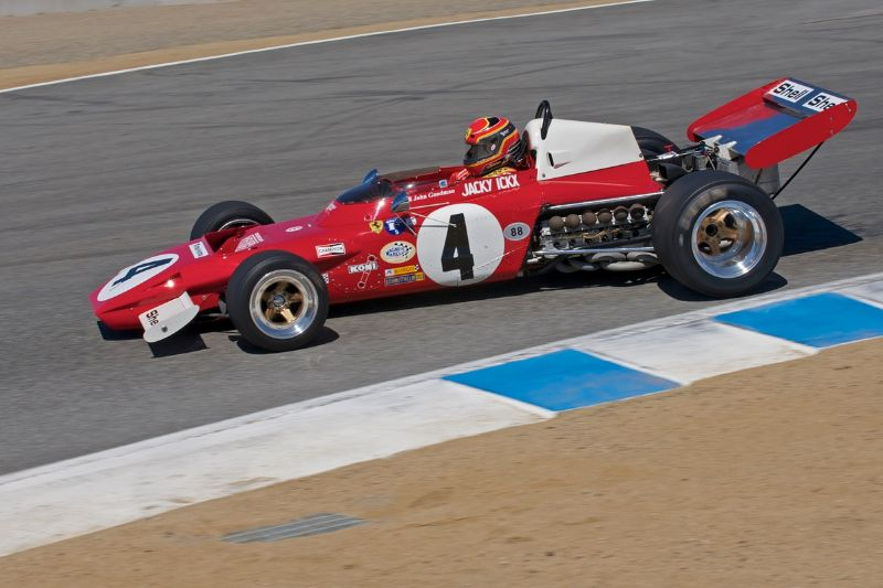 1971 Ferrari 312 B2 driven by John Goodman.