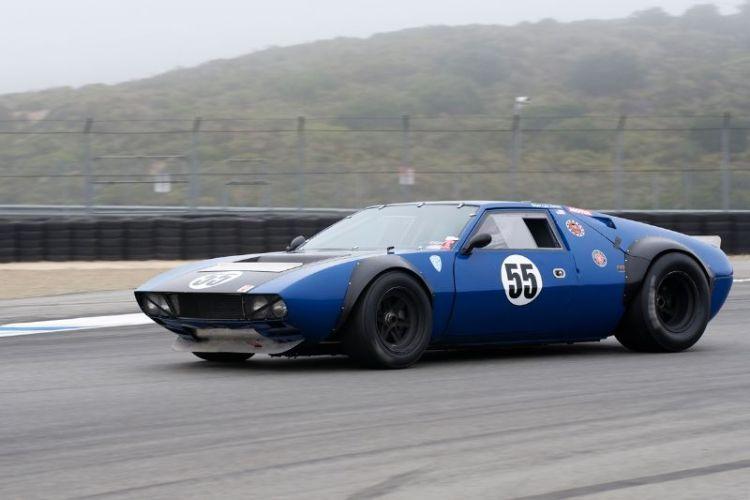 Lilo Zicron's 1970 De Tomaso Ford Mangusta.