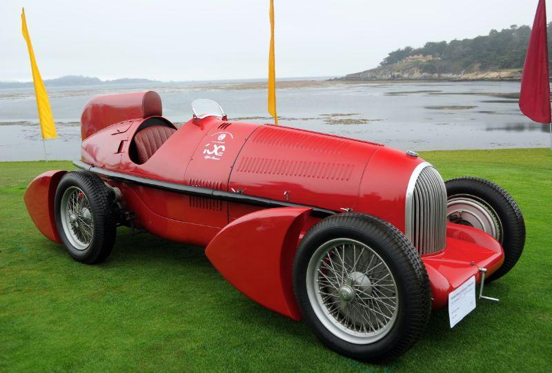 1934 Alfa Romeo Tipo B P3 Aerodinamica, Alfa Romeo Museo