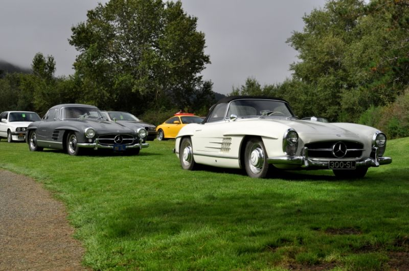 Mercedes-Benz 300SL Roadster and Gullwing