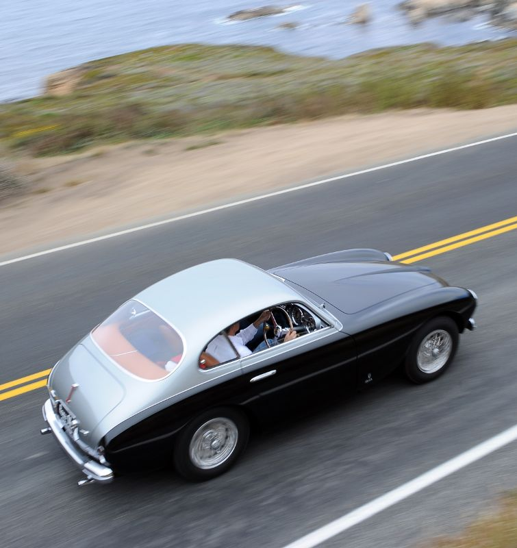 1951 Ferrari 212 Export Vignale Coupe, Brian and Kimberly Ross
