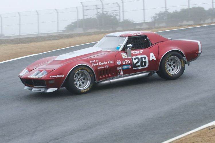 Second place in group 2A for Ross Thompson's 1973 Chevrolet Corvette.