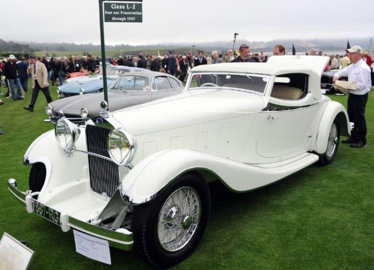 1933 Delage D8S De Villars Roadster, Patterson Collection