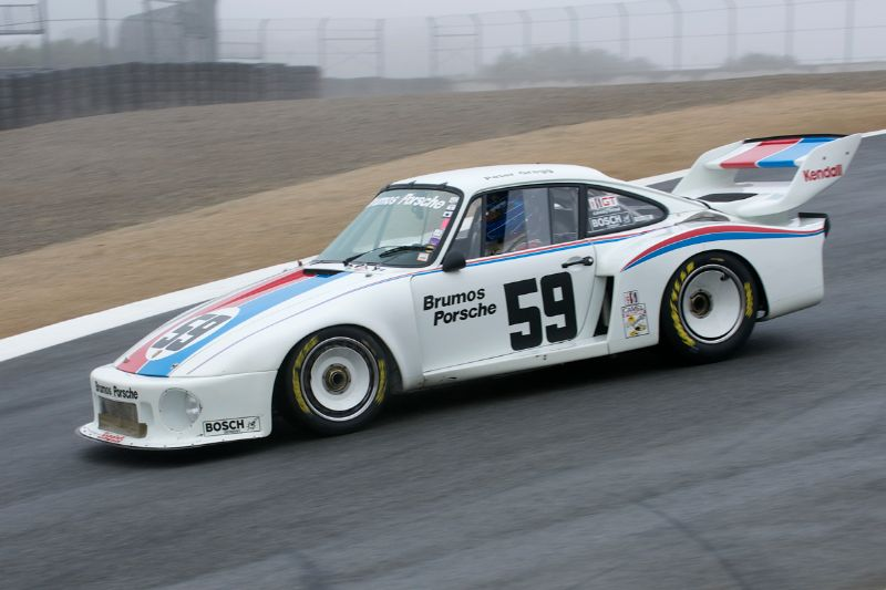 Rob Walton finished third in his 1978 Brumos Porsche 935.