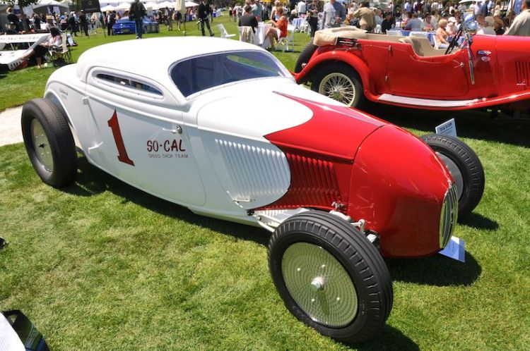 1934 Ford So-Cal Bonneville Coupe - Bruce Canepa