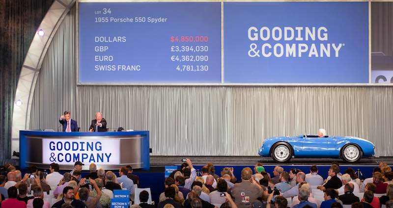 Porsches Sold At Auction In Photos Report Analysis - Sports cars 394