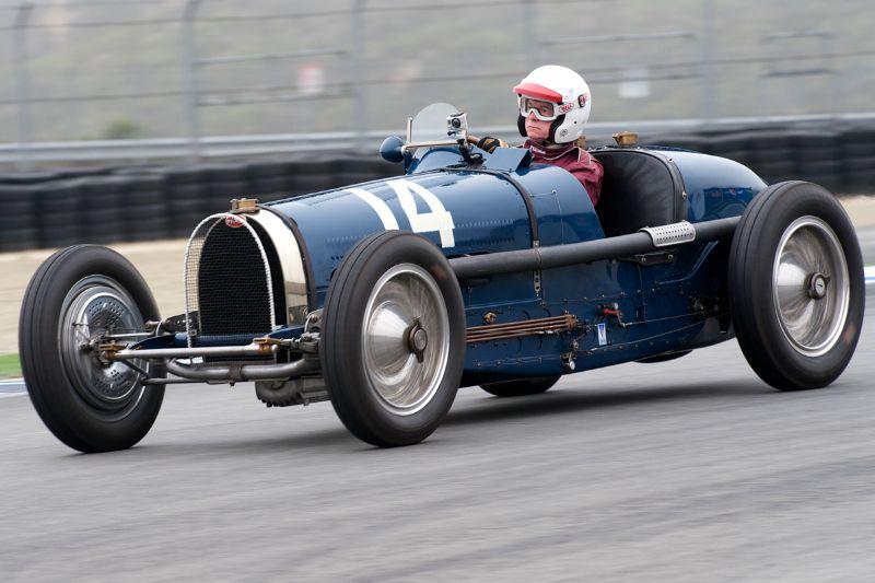 1934 Bugatti Type 59 driven by Charles McCabe.
