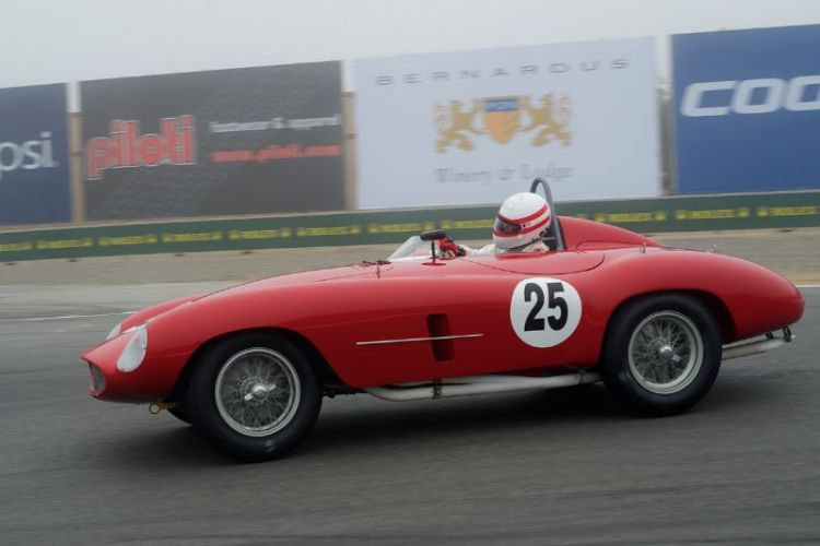 1954 Ferrari 500 Mondial driven by Erickson Shirley