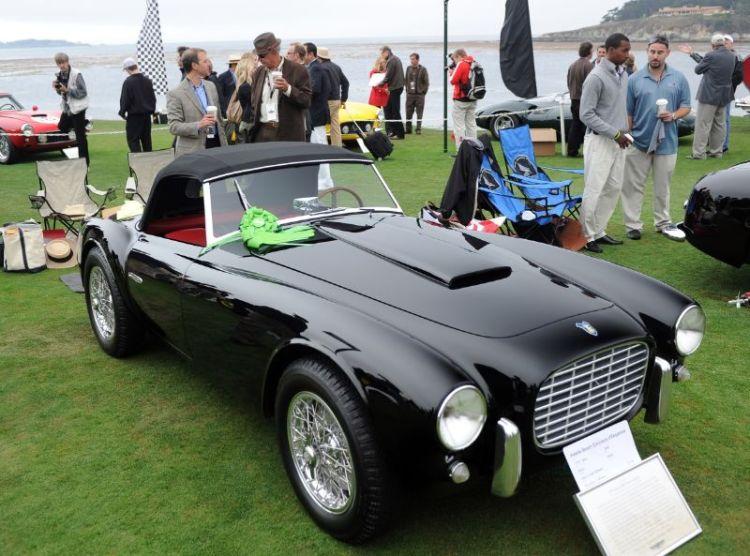 1953 Siata 208S Motto Spider, Larry and Jane Solomon