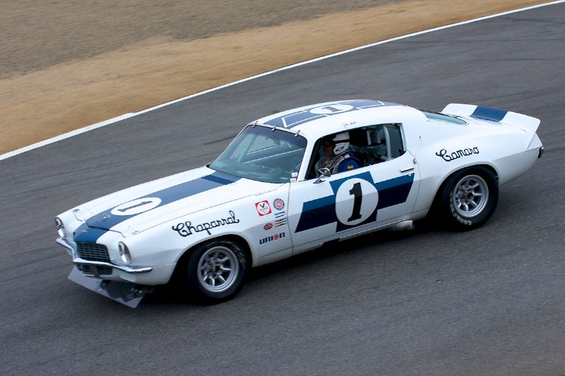 1970 Chevrolet Camaro driven by Jimmy Castle Jr.