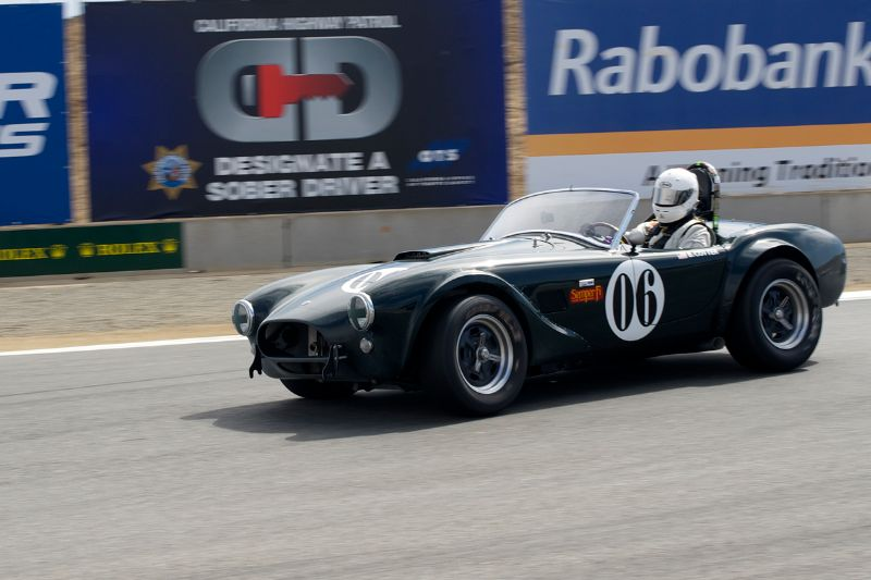 1965 Cobra 289 of William Cotter.