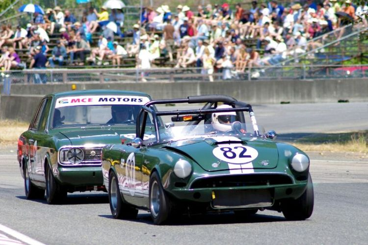 Tiger and Cortina - Exit of turn 5