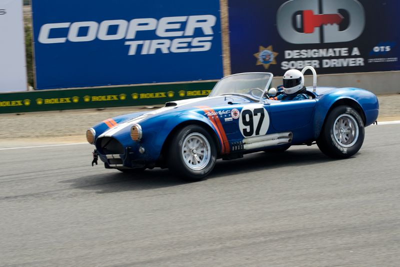 Steve Park in his 1962 Cobra 289.