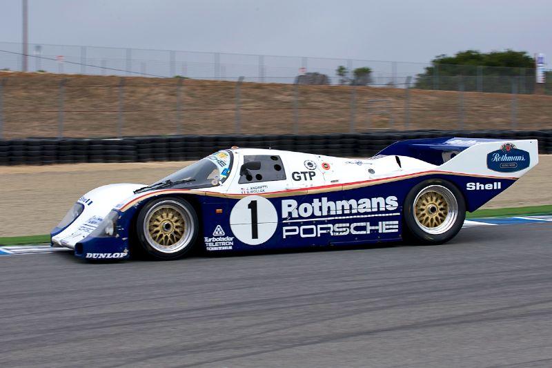 1986 Porsche 962 driven by Johan Woerheide.