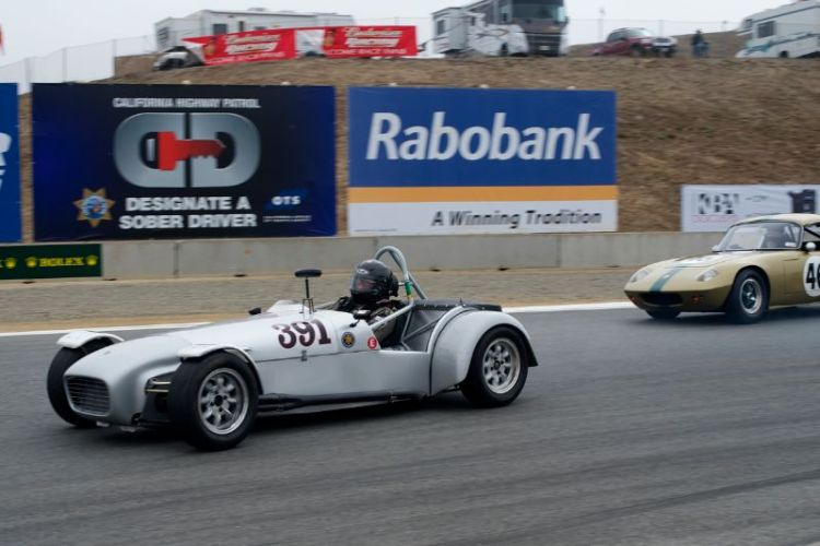Herb Wetanson's 1961 Lotus 7.