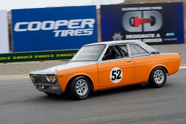 1967 Datsun Bluebird driven by Jim Froula.