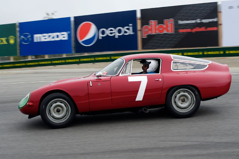1964 Alfa Romeo TZ driven by Marnix Dillenius.