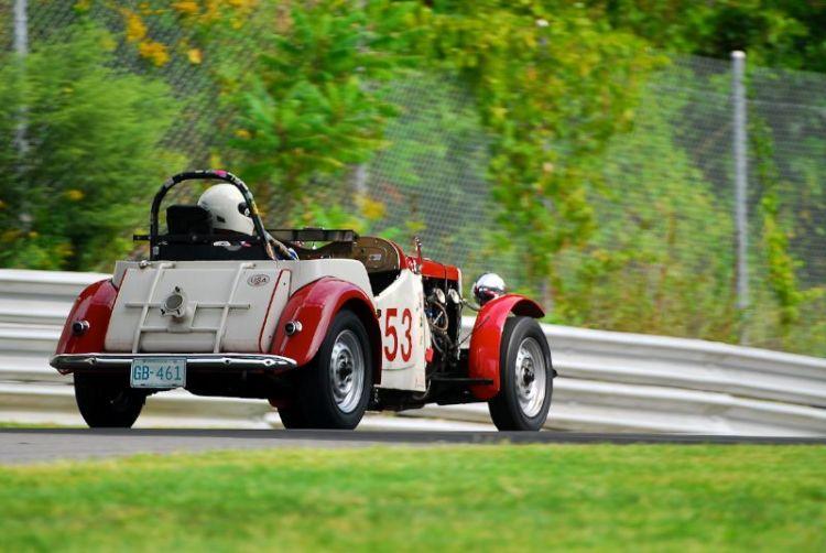 1953 MG TD - Rachel Prehodka-Spinde.