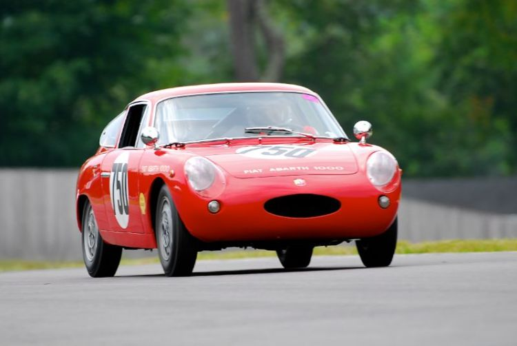 1963 Fiat Abarth - Mahlon Craft.