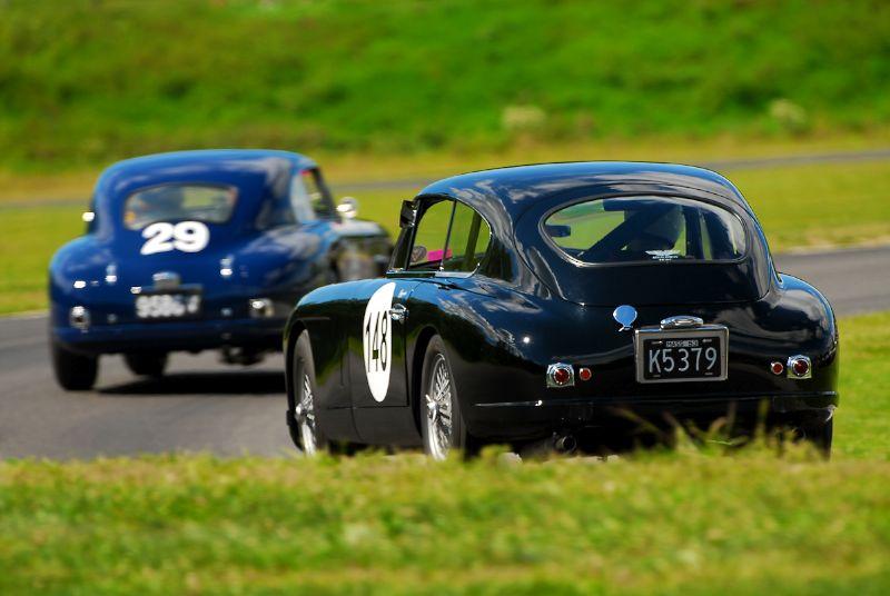 1954 Aston Martin DB2/4 Mk1 - Jim Hazen.
