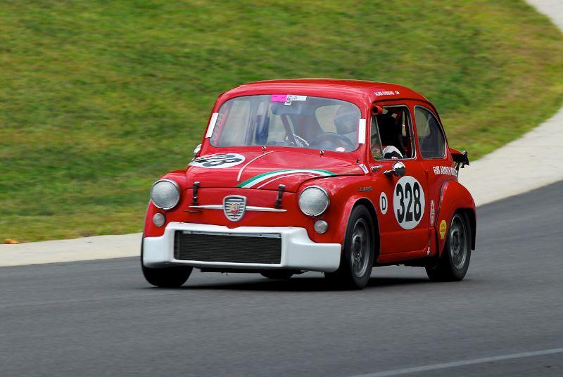 1964 Fiat Abarth 1000TC - Alian Raymond.