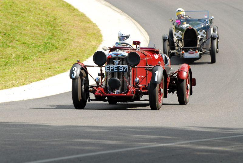 1936 Lagonda LG45 -  U. Daniel Ghose.