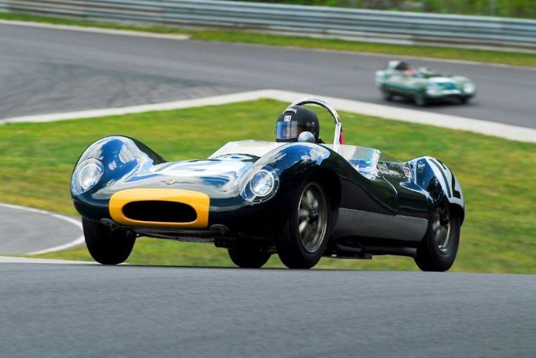 1962 Lola Mk1 - Bob Gett.